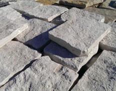 Pietra di Trani retrosegata tranciata naturale piano cava