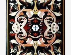 Tavolo intarsiato Piemonte