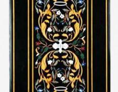 Tavolo intarsiato Flos