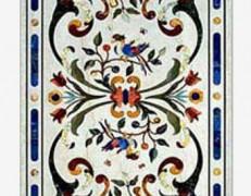Tavolo intarsiato Raffaello