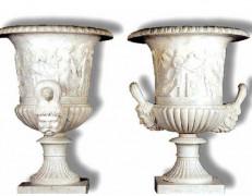 Vaso in marmo Kosmo