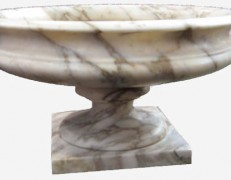 Vaso in marmo coppa