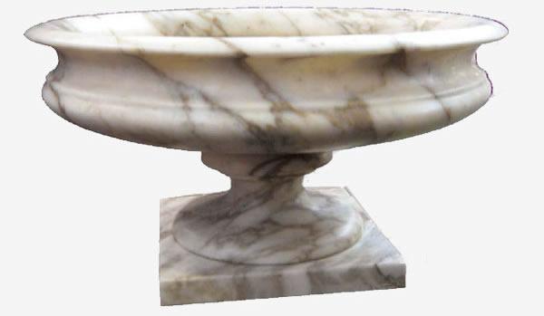 Vaso in marmo coppa pietre raffaele cileo pietra di for Vasi marmo