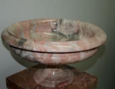 Vaso marmo rosa