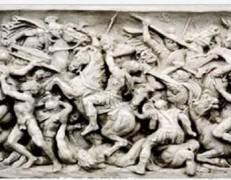 Bassorilievo La Battaglia
