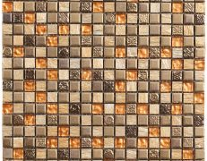 Mosaico Rodi rame