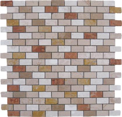 Mosaico muretto mix