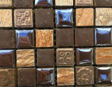 Mosaico Rodi brown