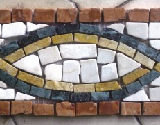 Mosaico a fasce AB 133