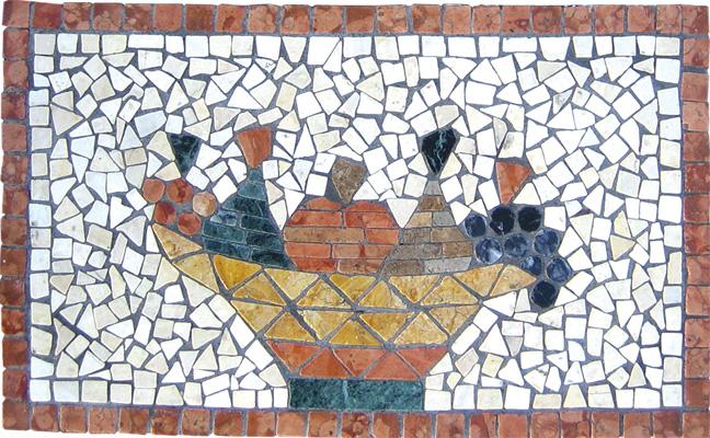 Mosaico decori frutta