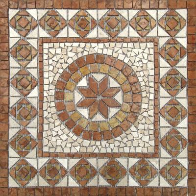 Mosaico rosone Gamma