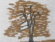Mosaico quercia