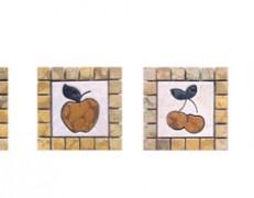 Mosaico tozzetti frutta
