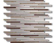 Mosaico luxury glitter Silver-Gold