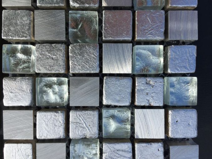 Mosaico alba argento