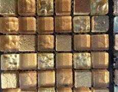 Mosaico alba oro
