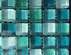 Mosaico alba verde