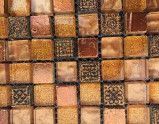 Mosaico ambra glit