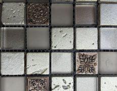 Mosaico grigio crystal