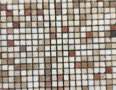 Mosaico micro 4 travertini