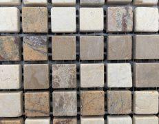 Mosaico miscela beige