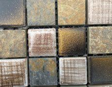 Mosaico oroardesia