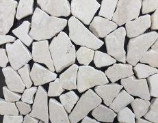 Mosaico pietrabianca breccia