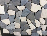Mosaico pietranera breccia