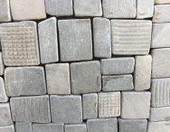 Mosaico pietranera quadropiatto