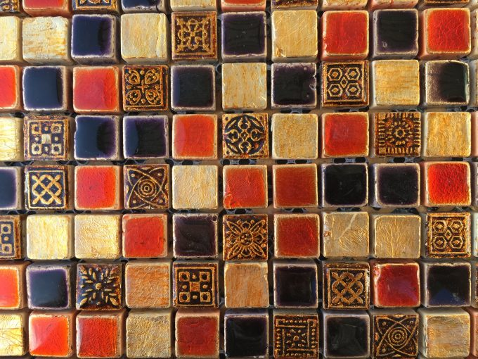 Mosaico russian gold