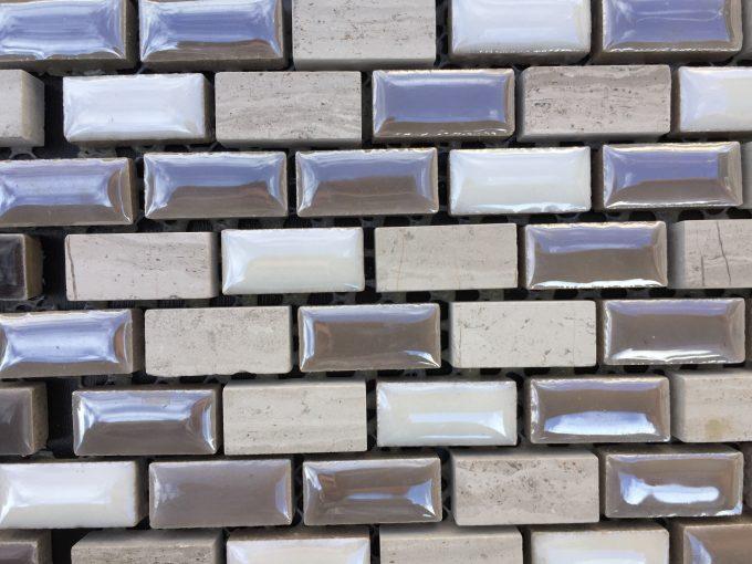 Mosaico tortora perlata