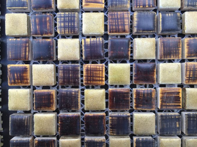 Mosaico verdeoro