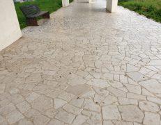 Pavimentazione anticata