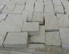 Mattoncino bianco tranciato