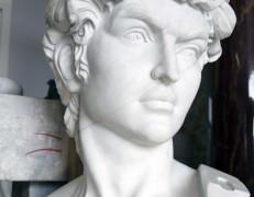Teste in marmo David