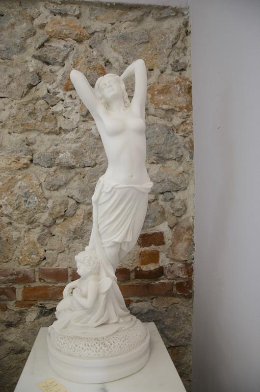 Scultura Venere e Eros