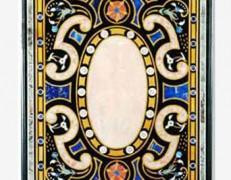Tavolo intarsiato Misto