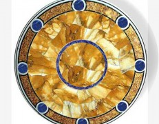 Tavolo intarsiato Orbis