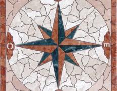 Mosaico rosone star