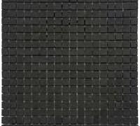 Mosaico nero Marquina lucido