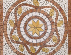 Mosaico rosone Alfa