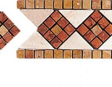 Mosaico a fasce Emilia giallo