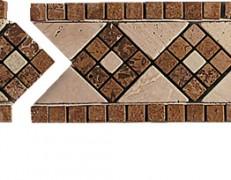 Mosaico a fasce Emilia noce