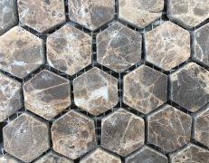 Mosaico esagono emperador