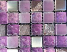 Mosaico alba lilla
