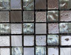 Mosaico argento crystal