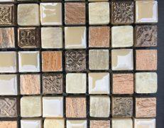Mosaico beige ardesia