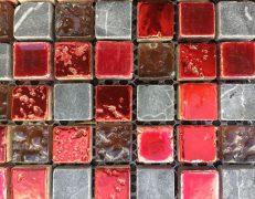 Mosaico dark scarlet