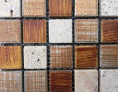 Mosaico litocrema