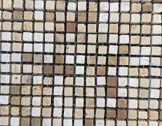 Mosaico micro brown